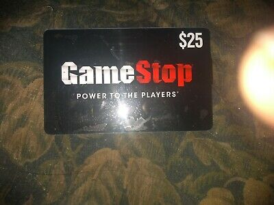 Game Stop * Used Collectible Gift Card No Value * SV1861207
