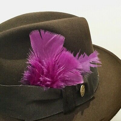 natural feathers for all hats leather straw wool felt fur Stetson hat