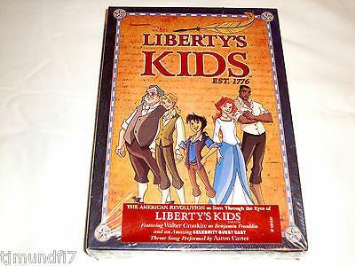 Liberty's Kids The Complete Series (DVD, 2008) NEW & SEALED W/SLIPCOVER