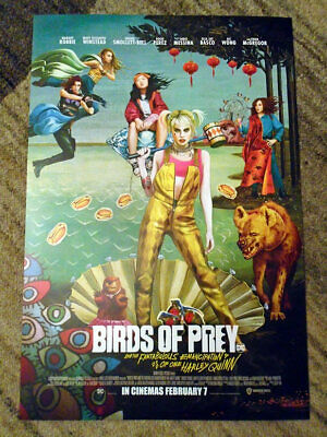 "Birds Of Prey (Harley Quinn) - UK Exclusive (12"" x 8"") Mini Movie Poster"