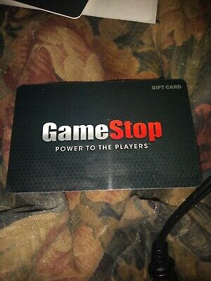 Game Stop * Used Collectible - Gift Card No Value * SV1902713