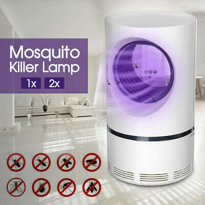 Electric Mosquito Killer Lamp Insect Trap Grill Fly Zapper Bug Trap Catcher 1/2x