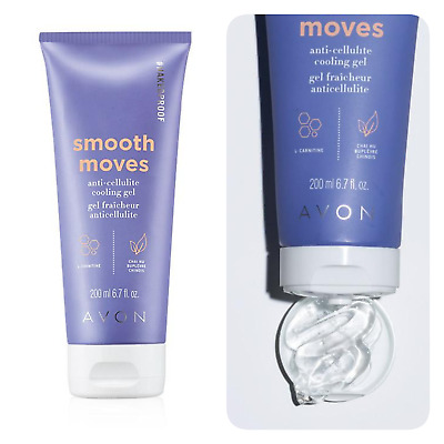 AVON Smooth Moves 6.7 Fluid Ounces Anti-Cellulite Cooling Gel