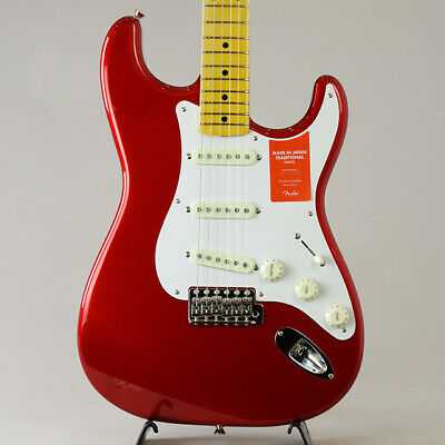 Fender: Made In Japan Traditional 50s Stratocaster Candy Apple Red