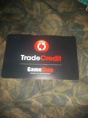 Game Stop * Used Collectible trade Credit Gift Card No Value * SV1800933