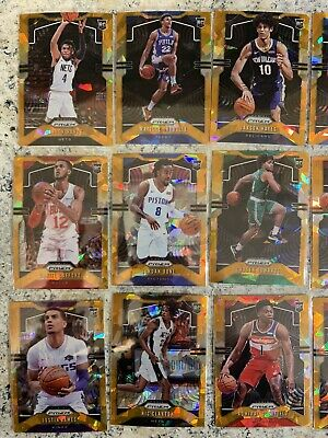 ORANGE CRACKED ICE PRIZM ROOKIES. U PICK THE PLAYER. 2019-20 Panini Prizm NBA