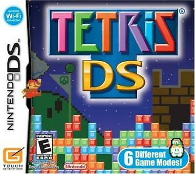 Tetris DS - Video Game By Artist Not Provided - VERY GOOD