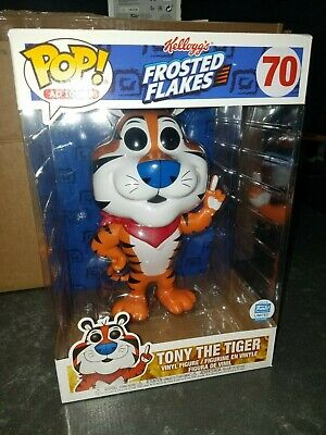 """Funko Pop! Ad Icons Frosted Flakes 10"""" Inch Tony the Tiger #70 Limited Edition"""