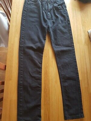 Boys Skinny Jeans Age 11-12 Years In Great Condition