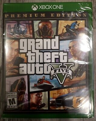 Grand Theft Auto V - Premium Edition (Xbox One, 2014) BRAND NEW and SEALED