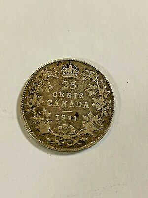 Canada 1911,  25 cents