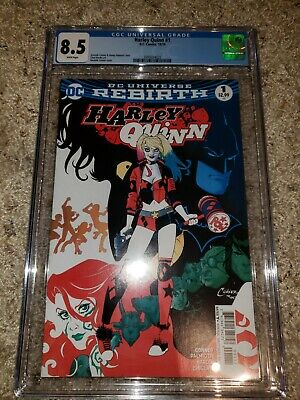 (DC) Harley Quinn #1  Amanda Conner cover!  Birds of Prey movie!  CGC'd!