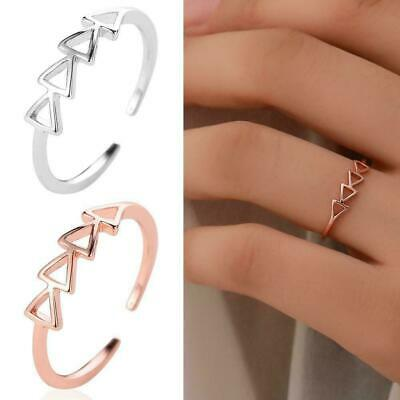 Modish Silver Gold Boho Stack Plain Above Knuckle Ring Midi Rings Set Finge G2T8