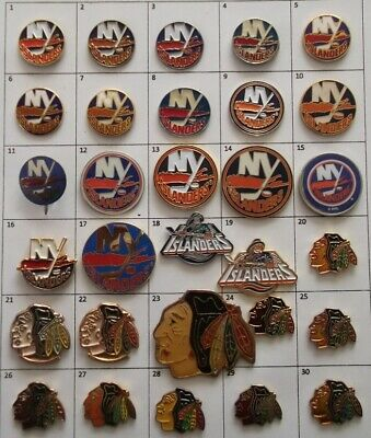 Different Teams : Ny Islanders Chicago Nhl Hockey Logo Pin Your Choice G872