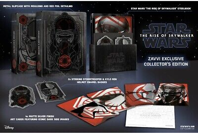 Star Wars The Rise Of Skywalker Steelbook (3D-Blu-ray/2D-Blu-ray) PRE-ORDER 4-20