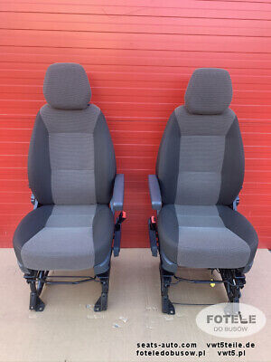Seats Fiat Ducato Relay left and right front base driver passenger