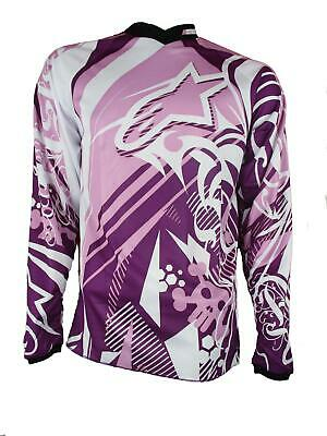 Alpinestars Stella Charger Jersey Violet Motocross Mx Enduro Quad Off Road
