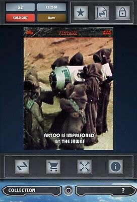 Topps Star Wars Card Trader Artoo Is Imprisoned By The Jawas S2 Series 2 Vintage