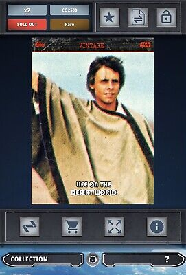 Topps Star Wars Card Trader SWCT Life On The Desert World S2 Series 2 Vintage