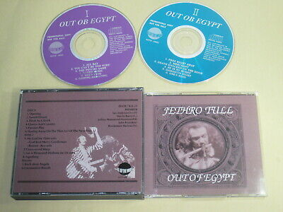 Jethro Tull - Out Of Egypt / All Of The World / 1974 Japan 2CD