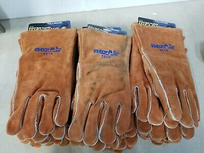 Lot of 12 - Tillman 1010 Select Split Cowhide Welding Gloves Large