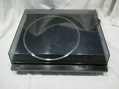 Vintage JVC Turntable Record Player AL-A158 with Manual
