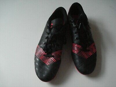 Adidas Black/Orange Blade Football/Rugby Boots, UK 11, US 11.5.