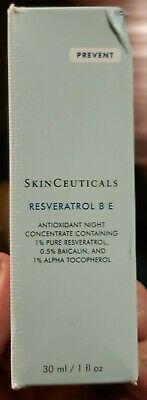 Skinceuticals Resveratrol B E Antioxidant Night Concentrate New in Box LAST ONE