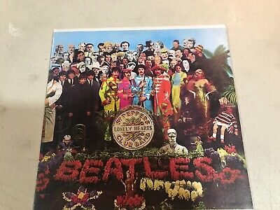 The Beatles Sgt Peppers Lonely Hearts Club Band Capitol Smas 2653 Ex/Vg++