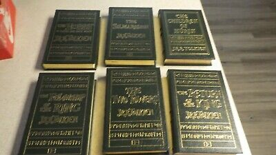 Easton Press J.R.R. Tolkien Set of 6 Lord of the Rings and Hobbit.