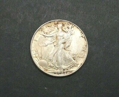 1943-P Walking Liberty Half Dollar 90% Silver Us Coin M1828