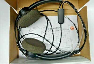 Plantronics SP12 Binaural Noise-Canceling Headset T110 Dial Keypad with MUTE