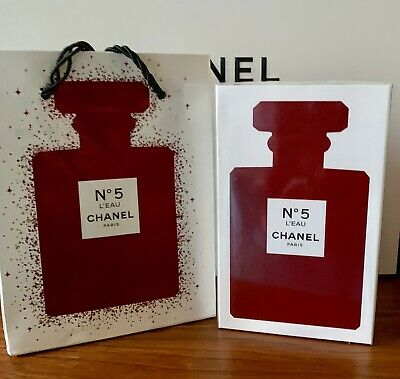 NEW Chanel No5 L'EAU EDT 3.4 Oz Authentic & Sealed Valentine Gift US Seller