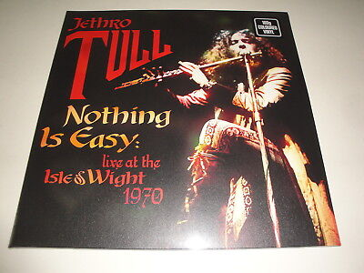 Jethro Tull: Nothing Is Easy Live At The Isle Of Wight 1970 2 LP Coloured Vinile