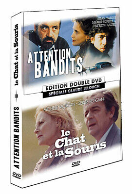 Attention Bandits + Le Chat Et La Souris / Coffret 2 Dvd Claude Lelouch