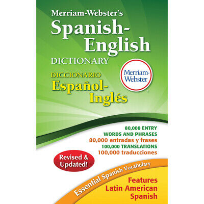 Merriam - Webster Inc. - Merriam Websters Spanish English Dictionary Hardcover