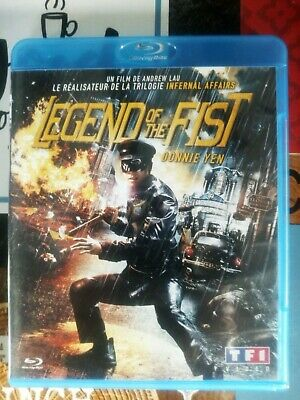 blu ray du film d'action Legend Of The Fist