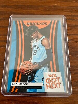 2019-20 Panini Hoops Ja Morant We Got Next Rookie 19 Memphis Grizzlies