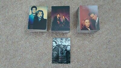 The X-Files Topps Collector Trading Cards Complete Season 1, 2 and 3