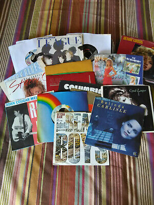 Lot of 75 45rpm records - all 80s - Many great artists! 1980's