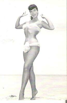 Promo Card Bunny Yeaer's Bettie Page The Queen Of Curves 1996