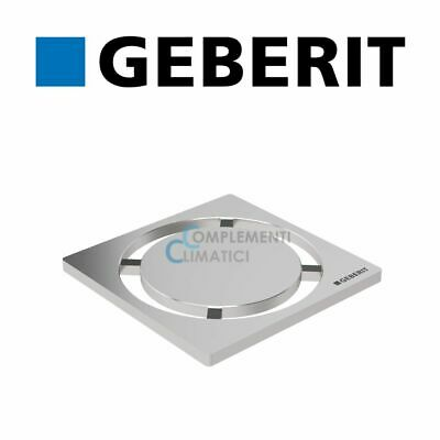 Geberit Grille Ronde 8×8 (154.311.00.1) Inoxydable