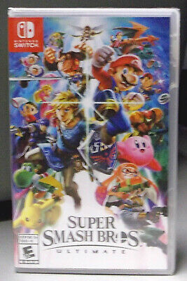 🔥 Super Smash Bros Ultimate NINTENDO SWITCH NEW Factory Sealed FREE Ship