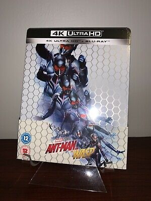 Ant-Man And The Wasp Steelbook (4K UHD/Blu-ray, 2-Disc Set) Factory Sealed