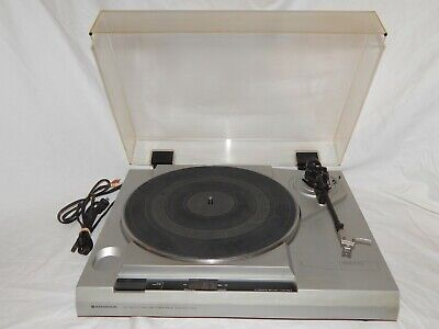 Vintage Kenwood KD-1600 Belt Drive Turntable Sounds Great!