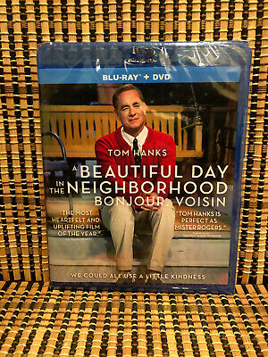 A Beautiful Day in the Neighborhood (2-Disc Blu-ray/DVD, 2020)Fred Rogers/Hanks