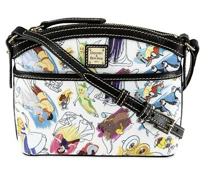 2020 Disney Parks Ink & Paint Dooney & Bourke Crossbody Bag