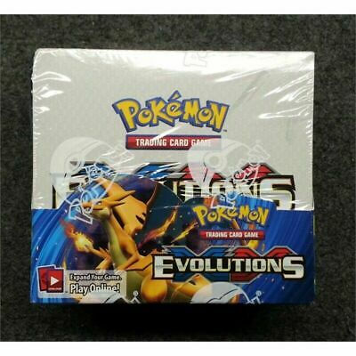 Pokemon TCG: XY Evolutions Sealed Booster Box - Pack of 36 New