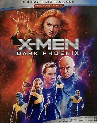 X - MEN ~ DARK PHOENIX ~ Blu-Ray + Digital *New *Factory Sealed