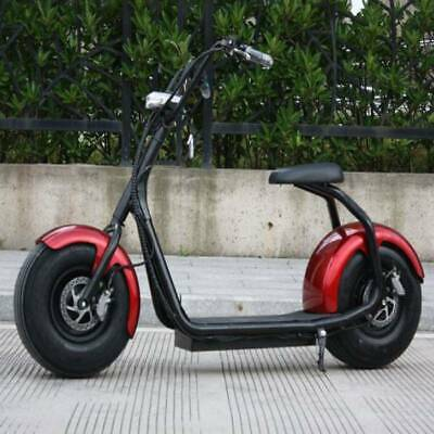 """Stuff Certified® City Coco Smart E Electric Scooter Harley Pro - 18 """"- 1000W - 1"""